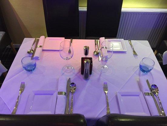 Heathfield, UK: All new look and menu .....