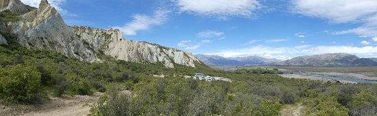 Omarama, Новая Зеландия: de kleirotsen