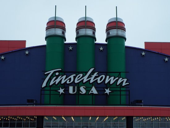 North Canton, OH: Tinseltown USA - near 'The Strip' in Jackson Township (Canton) OH