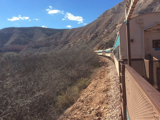 Verde Canyon Railroad: On the train