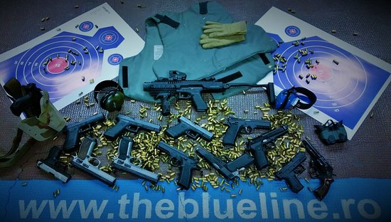 Blue Line - The Shooting Range