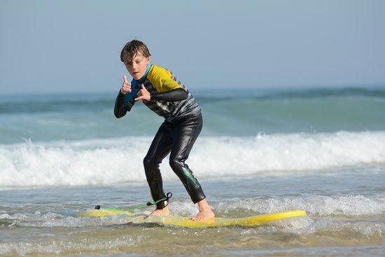 Nature surf school