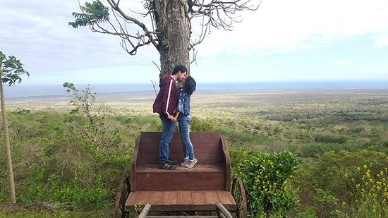 Live the real love in the top of Santa cruz Island!