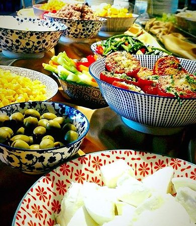 I Silvani Ristorante Pizzeria : Componi la tua insalatona da lunedì a venerdì nel nostro pranzo sef