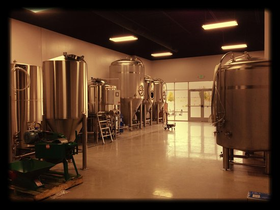 A look into the brewery side