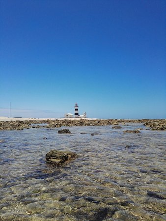Cape Recife Nature Reserve: Rock pools and lighthouse
