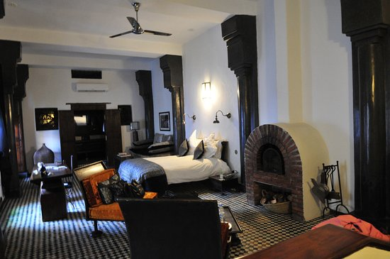 Riad Laaroussa Hotel and Spa: Riad Laaroussa, Grey Suite