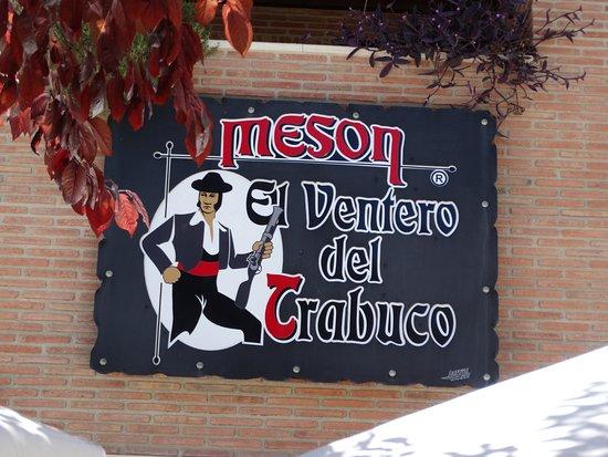 Villanueva del Trabuco, España: El Ventero Sign