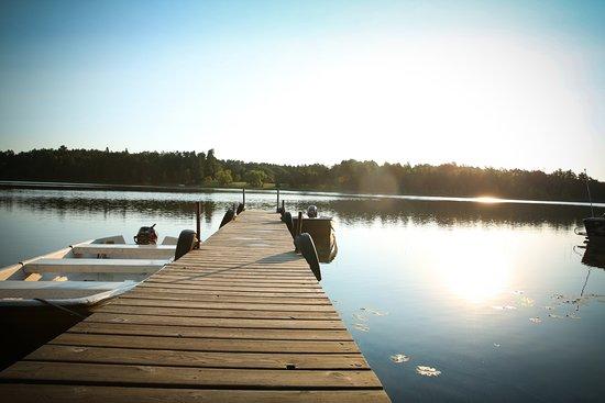 Park Rapids, MN: Boot Lake at Half Moon Trail Resort