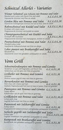 Hollersbach im Pinzgau, Αυστρία: Speisekarte