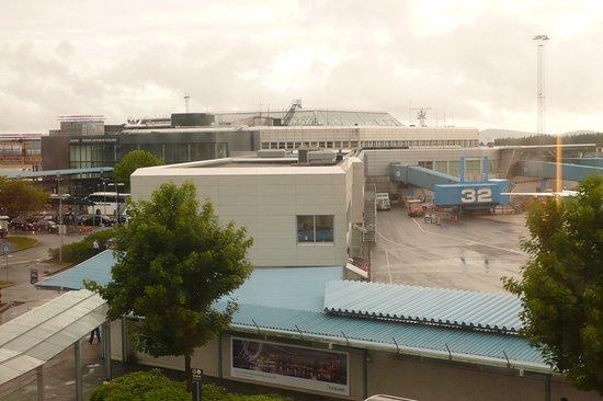 Clarion Hotel Bergen Airport: Pistas desde la habitación