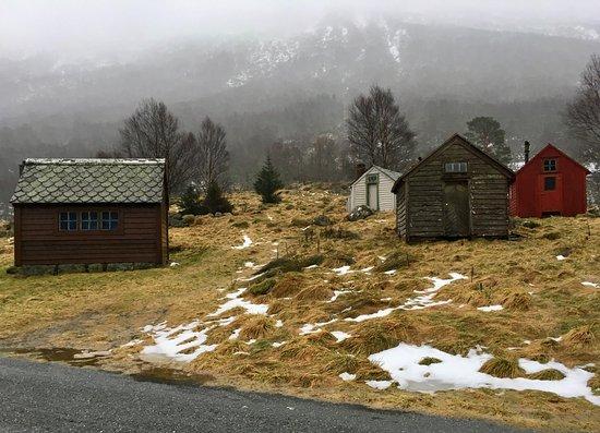 Rosendal, Noruega: Bilder fra Midtseter og Myrdalsvatnet.
