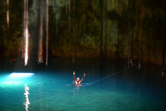 Yucatan, Mexico: miren los peces