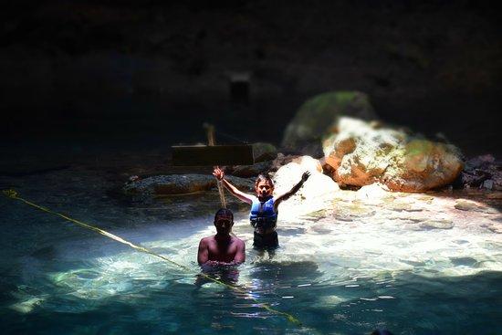 Yucatan, Mexico: leo y xavier