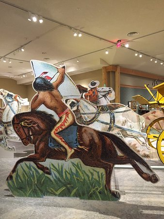 Buffalo Bill Center of the West: One of the many life size displays