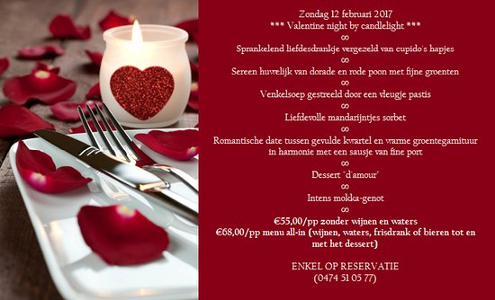 Oudenaarde, Belgique : Valentine Night by Candlelight !