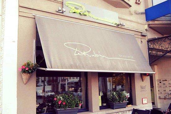 Oudenaarde, Belgia: Welkom in Brasserie Le Rubin