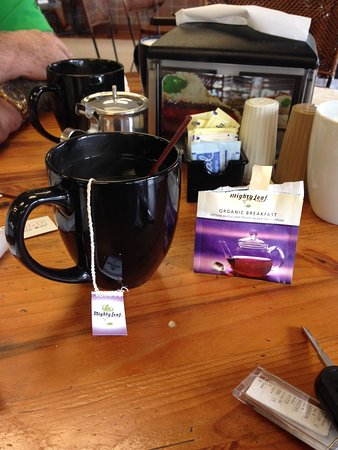 Palm Harbor, FL: Excellent hot tea