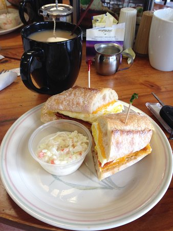 Palm Harbor, FL: All day breakfast baguette