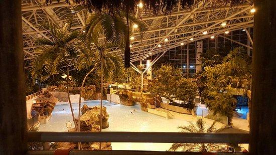 Пенрит, UK: Pool view from Cabana