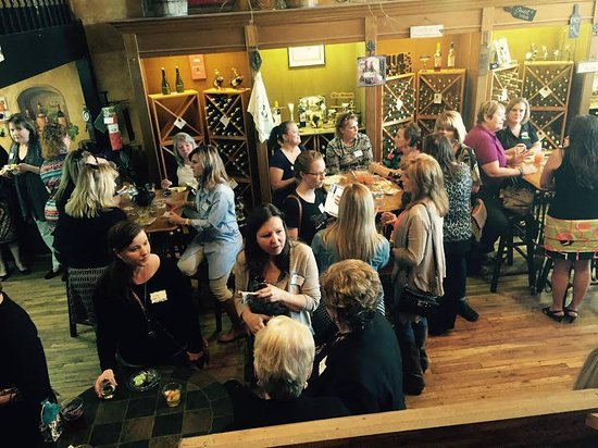 Granbury, Τέξας: Group Meet and Great at the winery