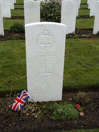 Cimetière Militaire Britannique : émouvant