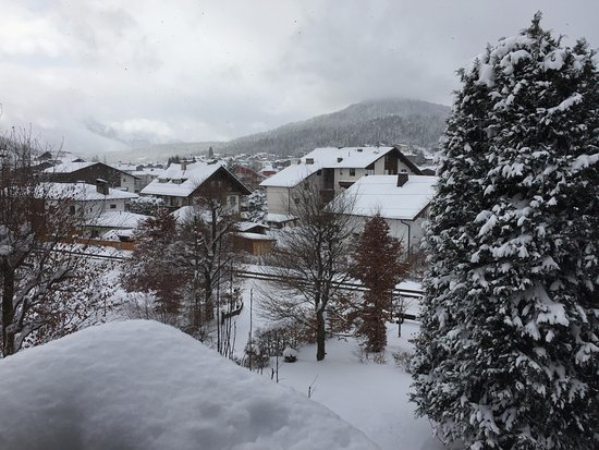 Parkhotel Seefeld: View from our room
