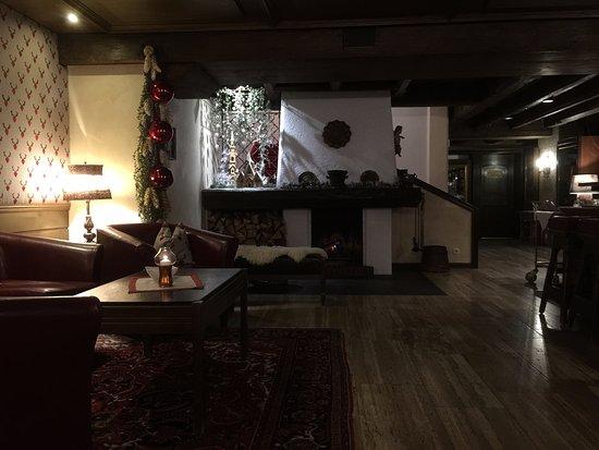 Parkhotel Seefeld: Lounge area