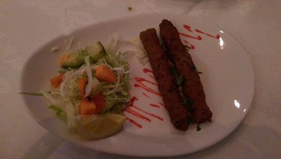 Hyde, UK: Seekh Kebabs