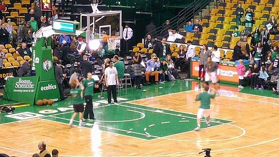 Entrenamiento de los Boston Celtics - Picture of TD Garden, Boston ...