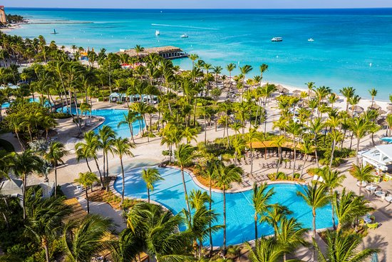 Holiday Aruba Trip Review Of Hilton Caribbean Resort Palm Eagle Beach Tripadvisor