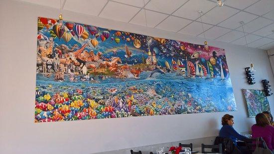 La Piccola Oasi : Il puzzle più grosso che abbia mai visto