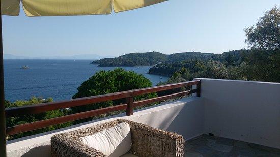 Villa Kim: View from terace!