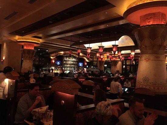 Allen, Техас: Interior of restaurant