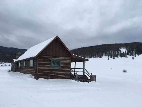 Keystone, CO: the old bunkhouse at Soda Springs Ranch