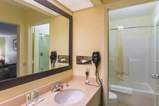 Quality Inn & Suites Civic Center : Bathroom