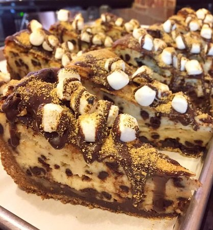 Shelbyville, IL: S'mores cheesecake
