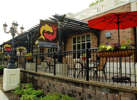 Genesee Grande Hotel Syracuse Restaurant