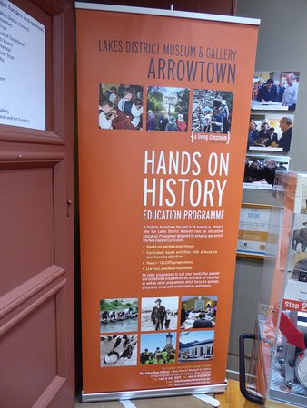Arrowtown, نيوزيلندا: Entry Sign