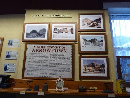 Arrowtown, نيوزيلندا: Arrowtown History Board