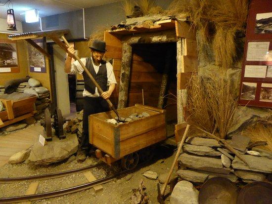 Arrowtown, نيوزيلندا: Mining Exhibit