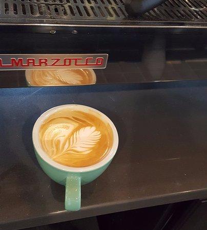 Champaign, IL: Latte art