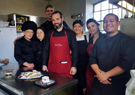 Fiano Romano, Italy: Lo Staff di Lele Ai Casali