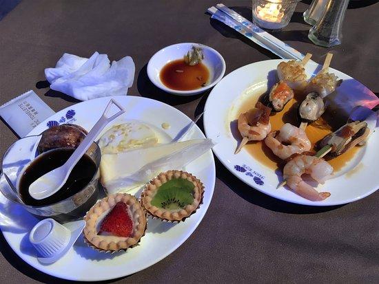 Piti, Mariana Islands: ディナーショーの食事