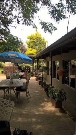 Addo, South Africa: Lenmore patio