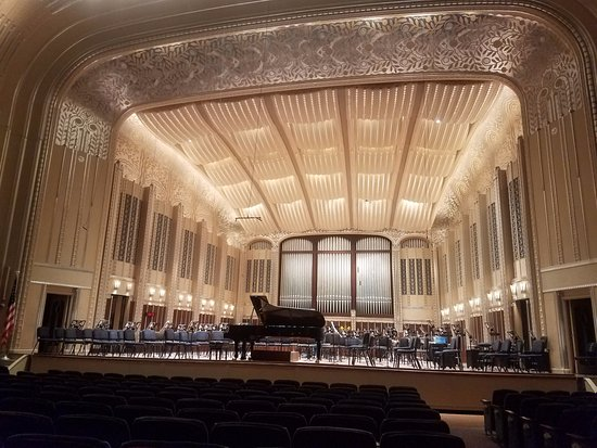 Cleveland Orchestra at Severance Hall: Inside of the hall