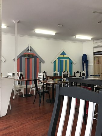 Rosebud, Australia: The food here is delicious, all made on the premises. Great food,healthy options. The decor is t