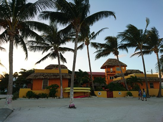 Seaside Cabanas: depuis la plage