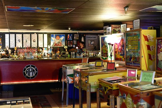 Cool refreshment stand - Picture of Asheville Pinball Museum
