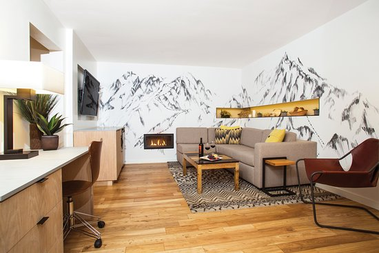 Fish Camp, Californie : Contemporary Suite in the Lodge